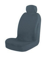 1963-1967 Chevrolet Corvette Pilot Malibu Low Back Seat Cover (Black)