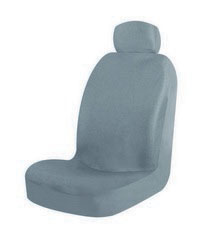 1963-1967 Chevrolet Corvette Pilot Malibu Low Back Seat Cover (Gray)