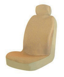 1963-1967 Chevrolet Corvette Pilot Malibu Low Back Seat Cover (Tan)