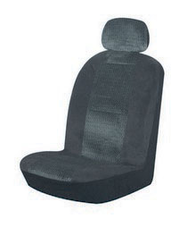 1963-1967 Chevrolet Corvette Pilot Burbank Low Back Seat Cover (Black)