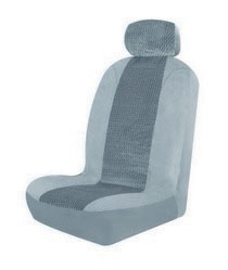 1963-1967 Chevrolet Corvette Pilot Burbank Low Back Seat Cover (Gray)
