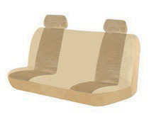 1963-1967 Chevrolet Corvette Pilot Burbank Standard Bench Seat Cover (Tan)