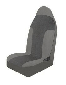 1963-1967 Chevrolet Corvette Pilot Tucson Large Bucket Seat Cover (Black)