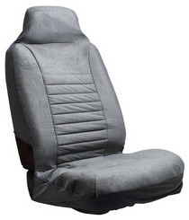 1963-1967 Chevrolet Corvette Pilot Regal High Back Seat Cover (Gray)
