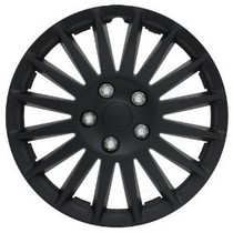 "1965-1972 Mercedes 250 Pilot 15"" Indy Wheel Cover (Black)"