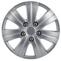 "2007-9999 Honda Fit Pilot 7 Spoke 14"" Wheel Cover (Matte Silver)"