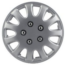 "1965-1972 Mercedes 250 Pilot 5 Lug 14"" Wheel Cover (Silver)"