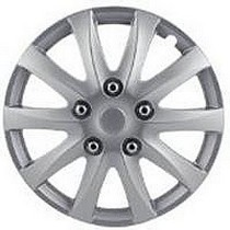 "1965-1972 Mercedes 250 Pilot 10 Spoke Camry Style 15"" Wheel Cover (Silver)"