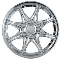 "1998-2000 Mercury Mystique Pilot 8 Star 15"" Wheel Cover (Chrome)"