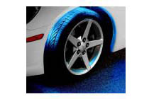1983-1989 BMW M6 Plasmaglow Flexible LED Wheel Well Kit - AQUA