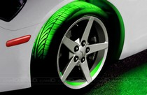 2001-2003 Honda Civic Plasmaglow Flexible LED Wheel Well Kit - GREEN