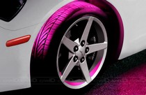 2001-2003 Honda Civic Plasmaglow Flexible LED Wheel Well Kit - PINK