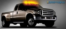All Trucks (Universal) Plasmaglow SkyPods LED Cab Lights - CLEAR