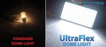 All Cars (Universal), All Jeeps (Universal), All Trucks (Universal), All Vehicles (Universal) Plasmaglow UltraFlex LED Dome Light (2 1/2