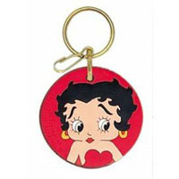 2006-9999 Mercedes CLS-Class Plasticolor Key Chains - Betty Boop