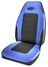 1988-1991 Honda Prelude Plasticolor Seat Covers - R Racing Stage III (Blue Vinyl)