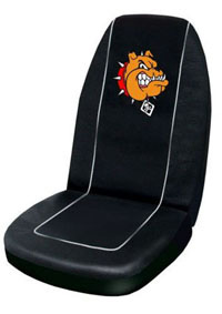 1988-1991 Honda Prelude Plasticolor Seat Covers - Bulldog Embroidered