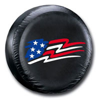 1998-2002 Honda Passport Plasticolor Spare Tire Covers - American Flag