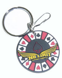 2006-9999 Mercedes CLS-Class Plasticolor Key Chains - No Limit Poker