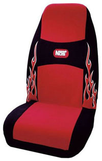 1988-1991 Honda Prelude Plasticolor Seat Covers - NOS (Red)