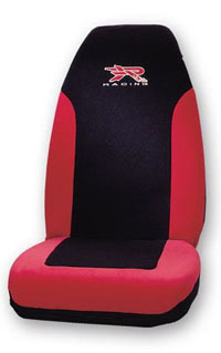 1988-1991 Honda Prelude Plasticolor Seat Covers - R Racing (Red)