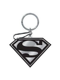 All Jeeps (Universal), All Vehicles (Universal), Universal Plasticolor Key Chains - Superman Enamel