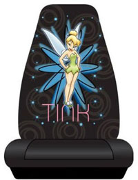 1988-1991 Honda Prelude Plasticolor Seat Covers - Tinker Bell Pixie Power