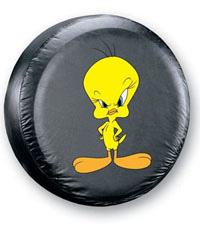 1998-2002 Honda Passport Plasticolor Spare Tire Covers - Tweety