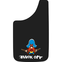 All Jeeps (Universal), Universal - Fits all Vehicles Plasticolor Mud Flaps - Yosemite Sam