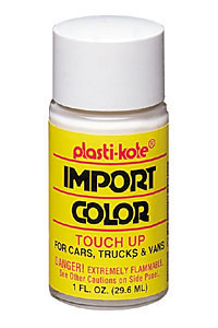 All Jeeps (Universal), Universal Plastikote Touch-Up Paint -  Super Silver III Mbc