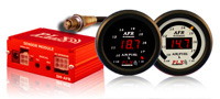 2005-2006 Lotus Elise PLX Devices Gauges - DM-5 AFR 52mm w/ SM-AFR (Black)