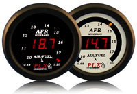 1998-2000 Ford Ranger PLX Devices Gauges - 52mm Wideband Air / Fuel Ratio LED (Black)