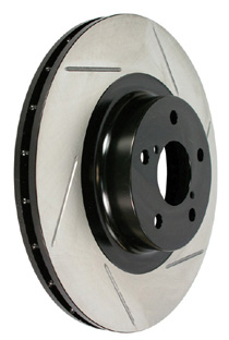 2007-9999 Chevrolet Silverado Powerslot Slotted Rotor - Rear Left