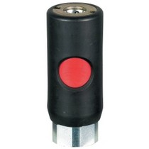 2004-9999 Nissan Titan Prevost Black Body/Red Button