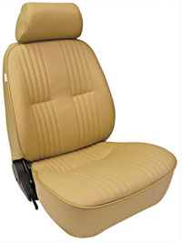 All Jeeps (Universal), Universal - Fits All Vehicles Procar Racing Seat - Pro 90 Series 1300, Beige Vinyl (Left)