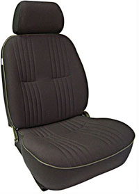 All Jeeps (Universal), Universal - Fits All Vehicles Procar Racing Seat - Pro 90 Series 1300, Black Velour (Left)