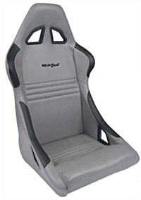 1962-1967 Chevrolet Nova Procar Racing Seat - Xtreme Series 1700, Grey Velour (Right)
