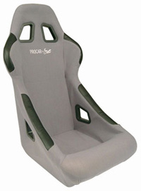 All Jeeps (Universal), Universal - Fits All Vehicles Procar Racing Seat - Pro-Sports Series 1790, Grey Velour (Left)