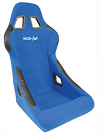 All Jeeps (Universal), Universal - Fits All Vehicles Procar Racing Seat - Pro-Sports Series 1790, Blue Velour (Left)