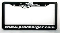 "2003-2006 Mercedes Sl-class ProCharger License Plate Frame ""ProCharger.com"""