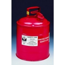 2000-2002 Hyundai Tiburon Protecto Seal 1 Gallon Red Metal Gas Can