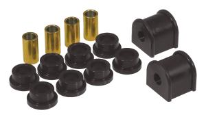 Prothane 8-1126-BL Black 16 mm Rear Sway Bar Bushing Kit
