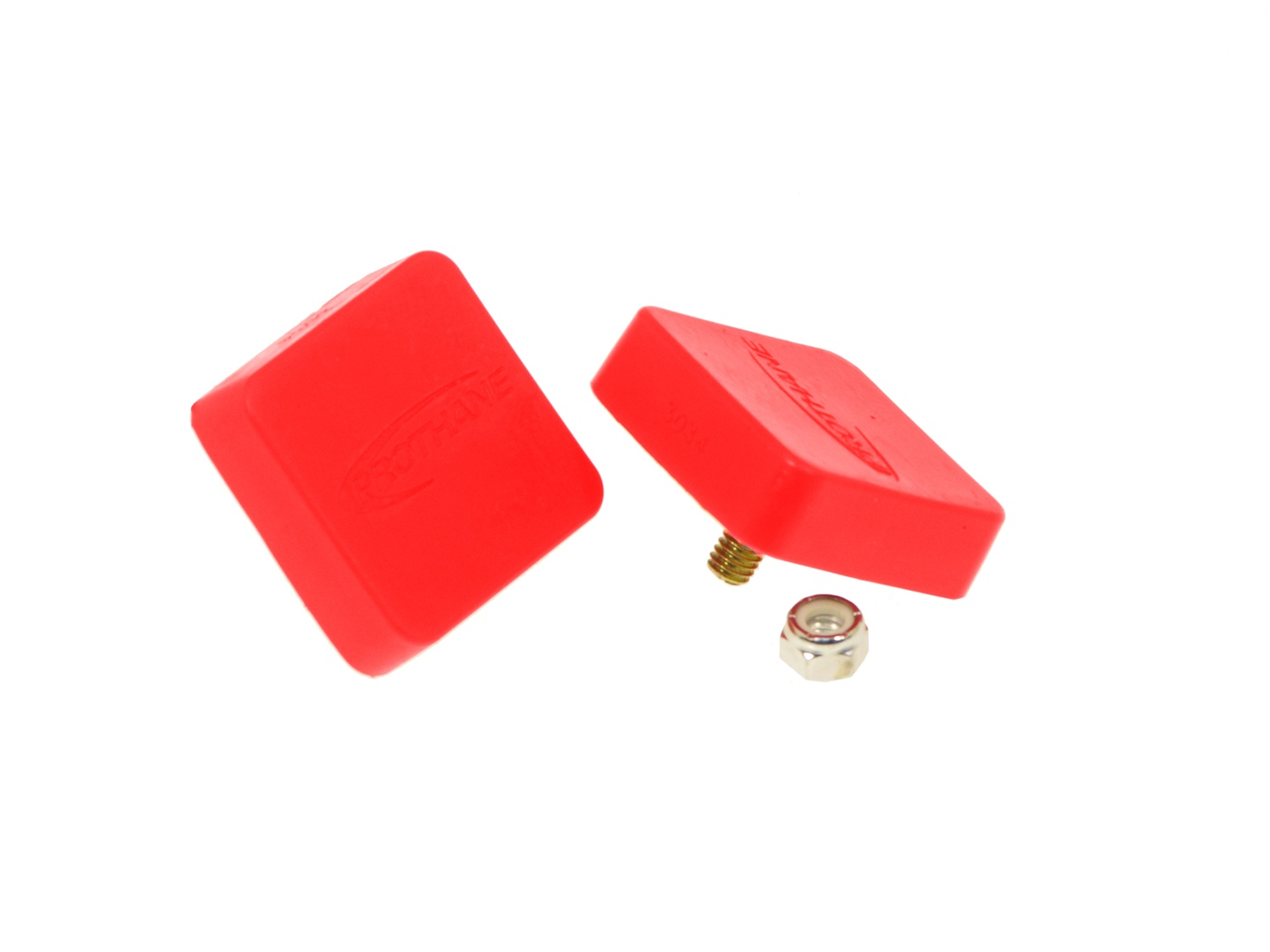 All Vehicles (Universal) Prothane Bump Stops - Red
