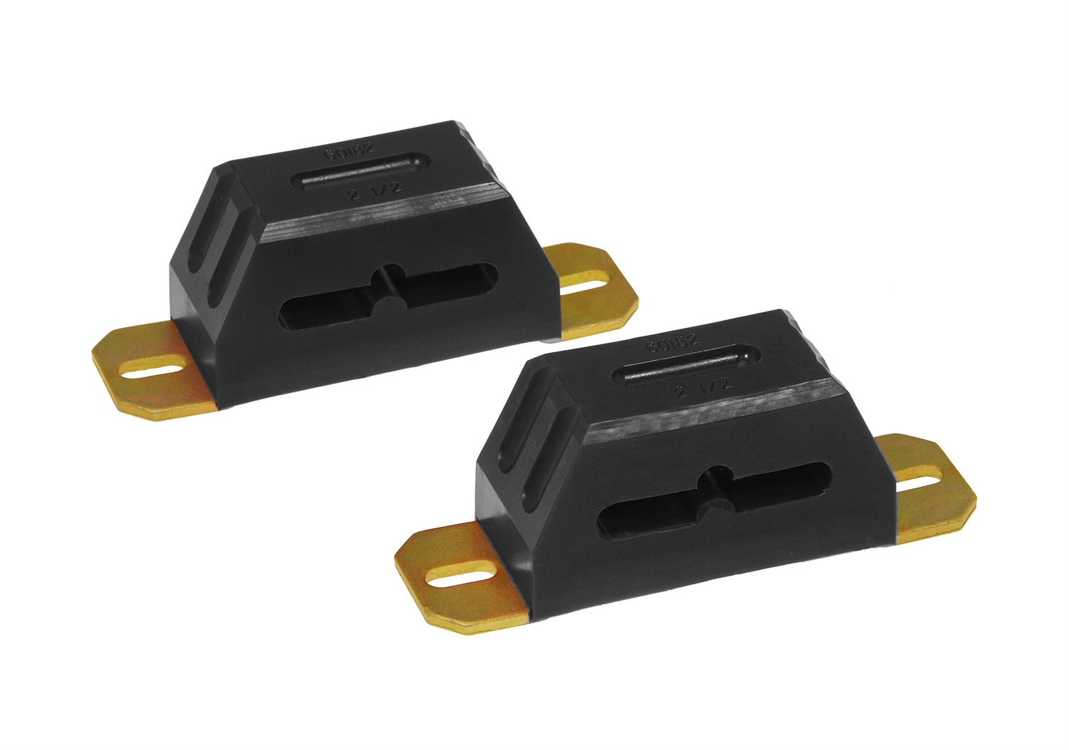 All Vehicles (Universal) Prothane Progressive Rate Multi Mount Bump Stop - 2 Inch - Black