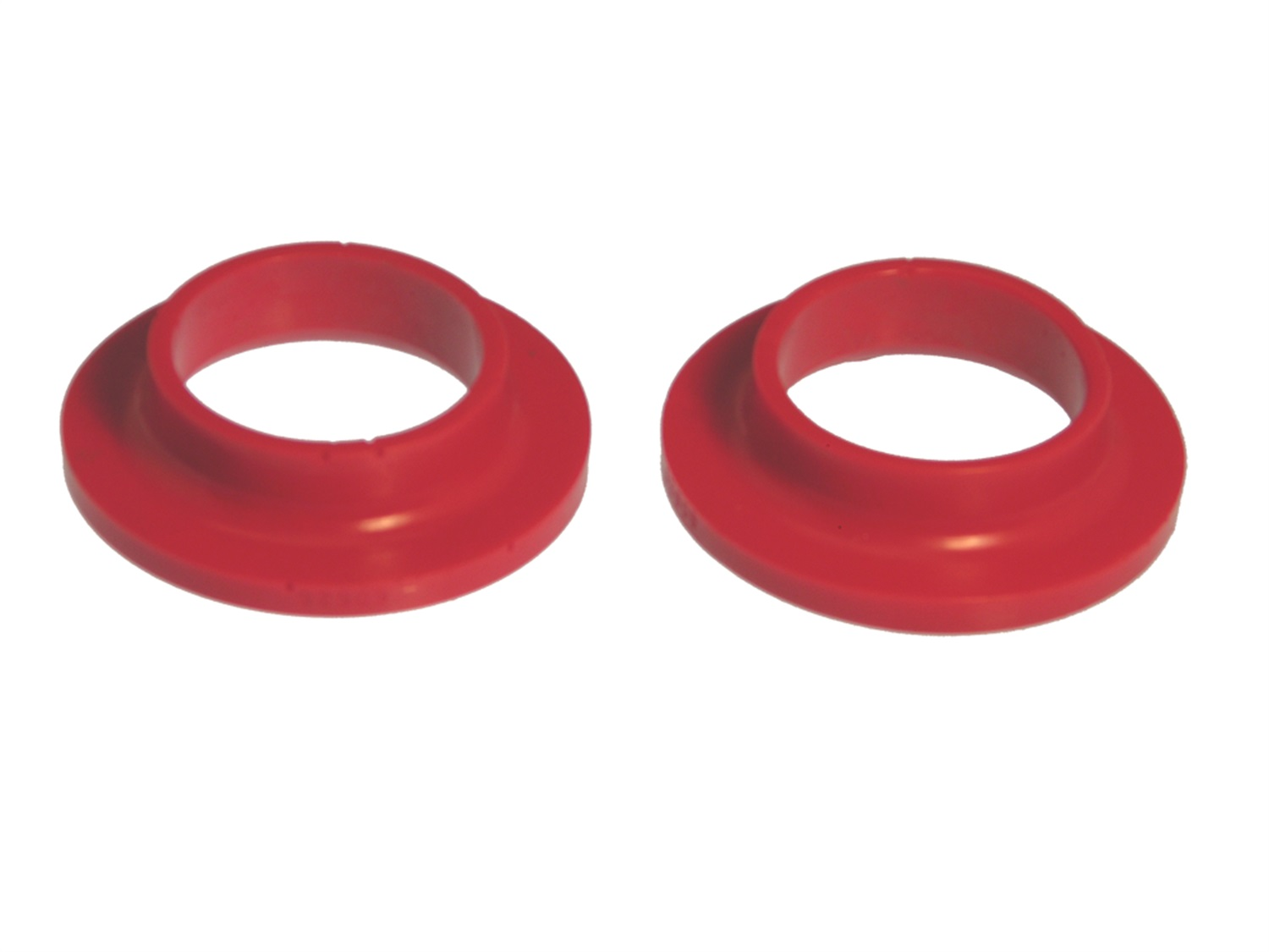 All Vehicles (Universal) Prothane Coil Spring Isolators - Red