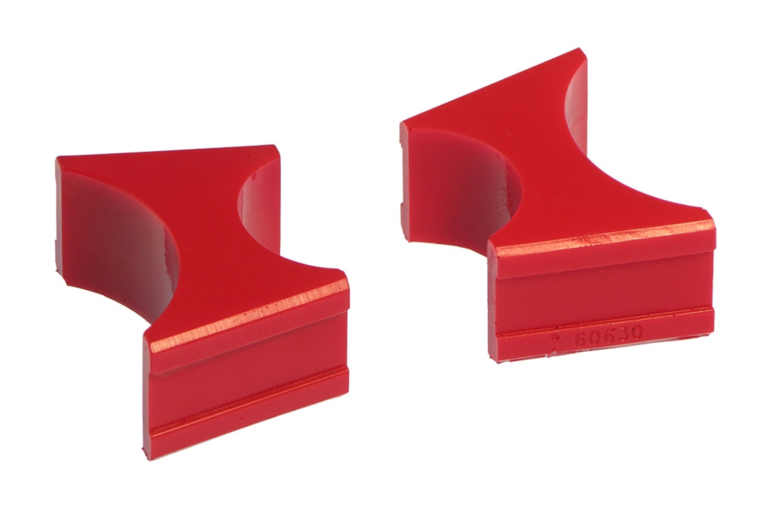 All Vehicles (Universal) Prothane Shock Resevoir Mount Bushings - 1.5/2.5 Inch Diameter - Red