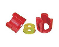 95-99 Chrysler Neon SOHC / DOHC, 95-99 Plymouth Neon SOHC / DOHC Prothane Motor Mounts - Softer Street Style (Black)
