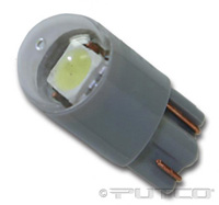 1992-1999 Pontiac Bonneville Putco Colored Bulbs - 194 Wedge Premium LED Replacement (Red)