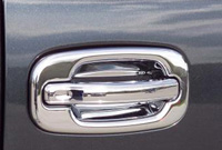 03-05 Ford Explorer Putco Door Handles - Covers w/o Passenger Keyhole