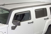 05-08 Hummer H3 Putco Side Window Deflectors - Element Tinted (4 PC)